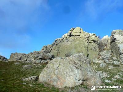 Sierra de la Cabrera - Pico de la Miel;viajes senderismo; trekking semana santa